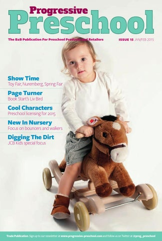 The B2b Publication For Preschool Products And Retailers