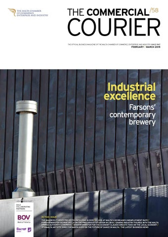 The Commercial Courier February/March 2015 by Content House Group