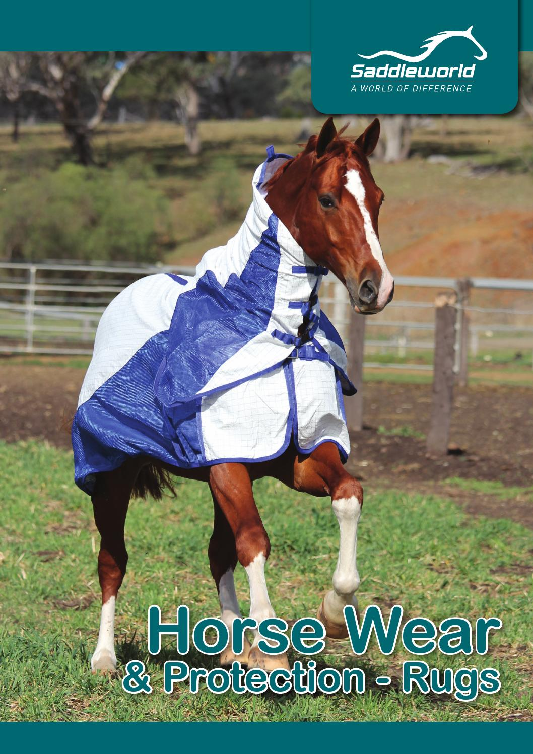 2016 Saddleworld Product Guide Horse