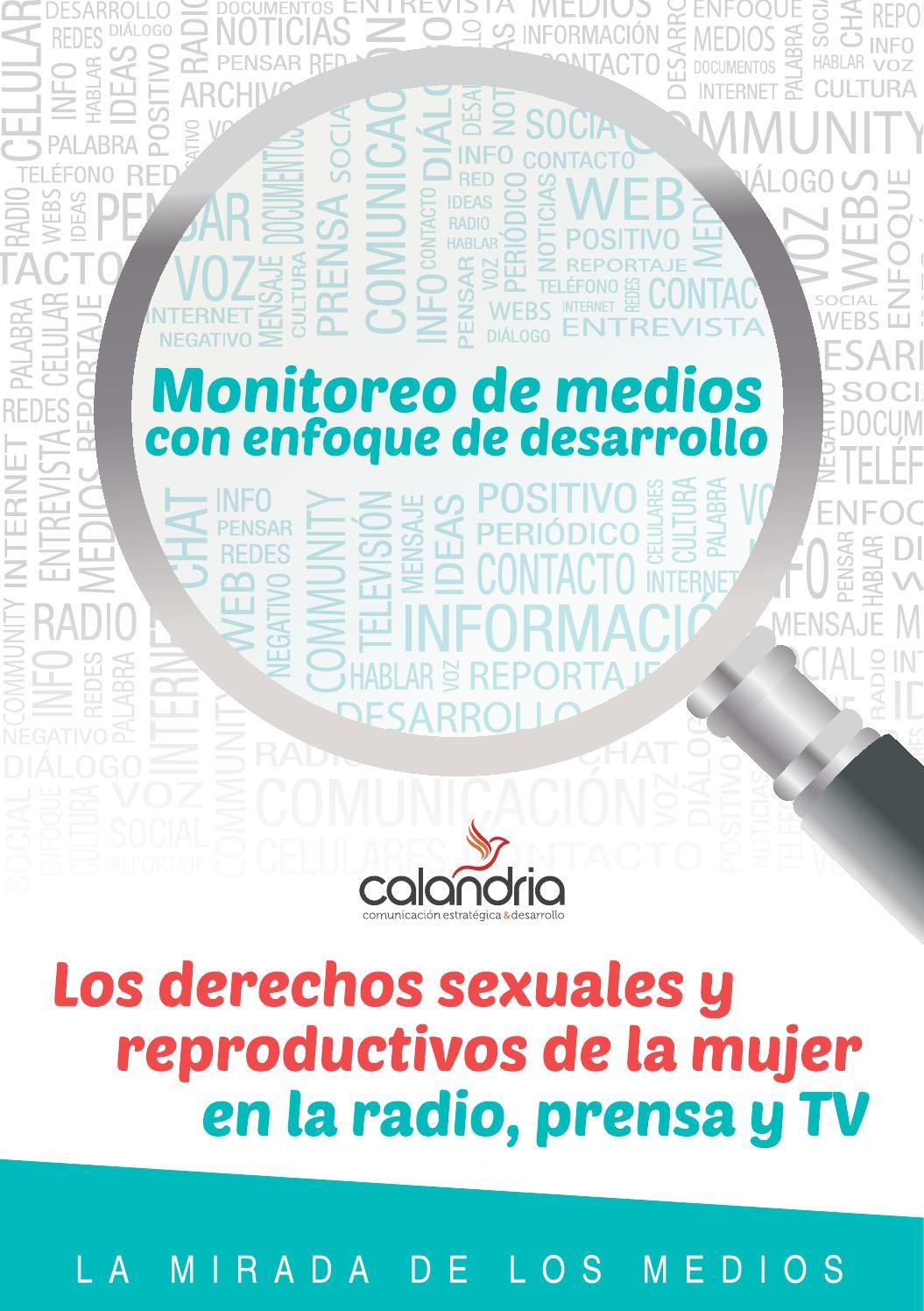 Monitoreo de Medios con enfoque de Desarrollo. Los derechos sexuales ...
