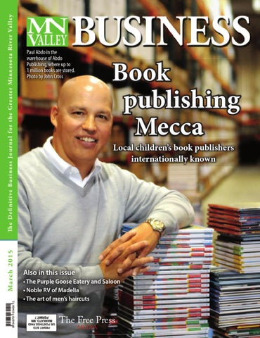 Mn valley mag by free press media issuu paul abdo in the warehouse of abdo publishing where up to 1 million books are stored photo by john cross fandeluxe Choice Image