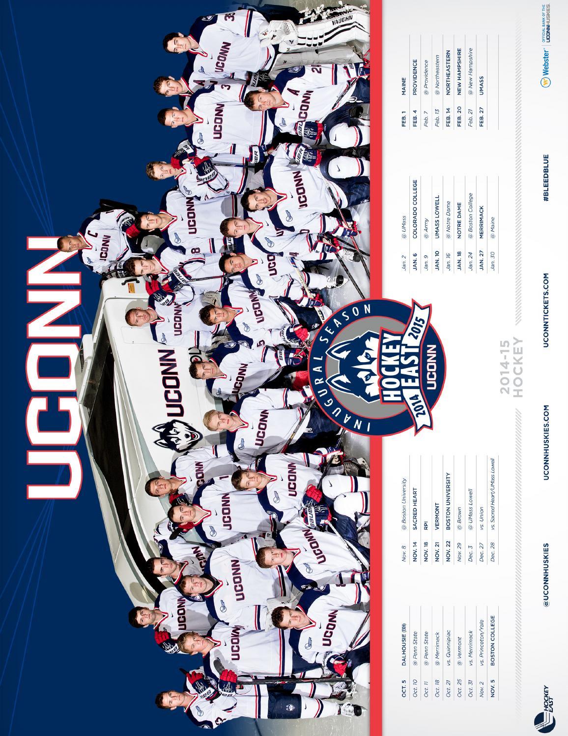 5160652ff91 2014-15 Men s Hockey Media Guide by UConn Divison of Athletics - issuu