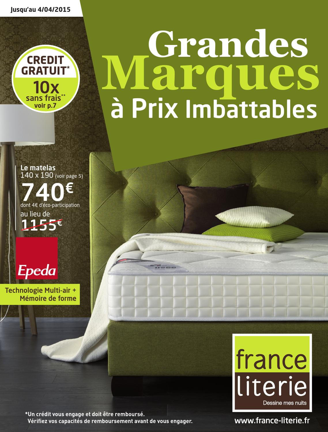 grandes marques prix imbattable by france literie issuu