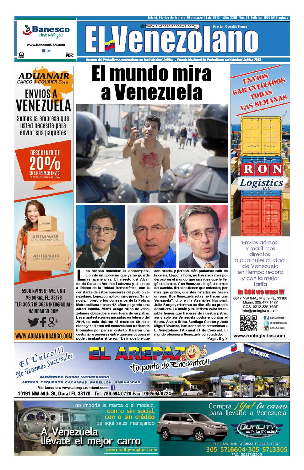 Miami 1006 by Grupo Editorial El Venezolano - issuu