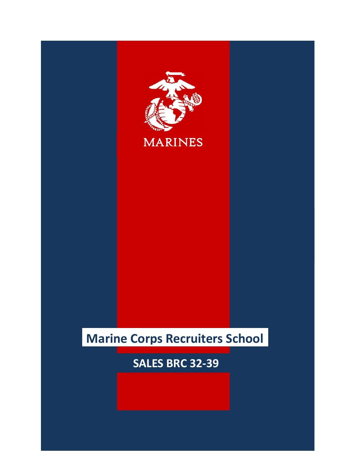 Sales BRC by Marine Corps Recruiters School - issuu