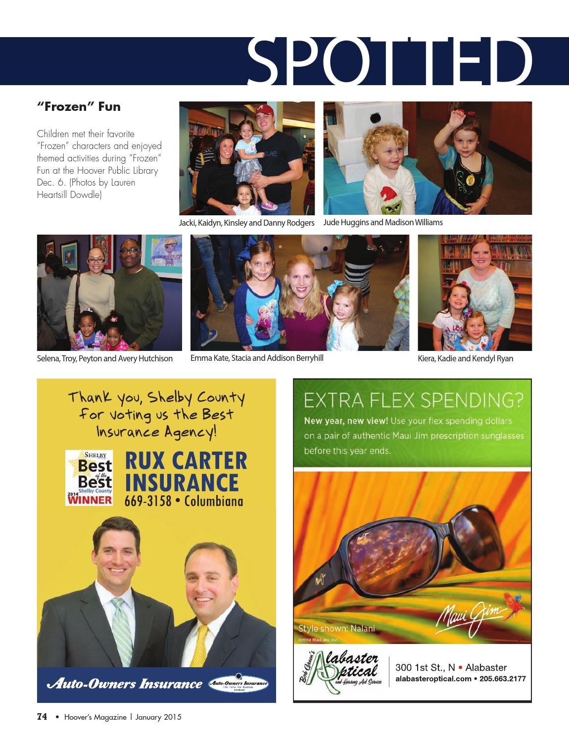 Hoover's Magazine January 2015 by Shelby County Newspapers