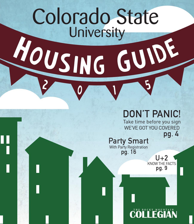 Spring 2015 CSU Housing Guide By Rocky Mountain Collegian