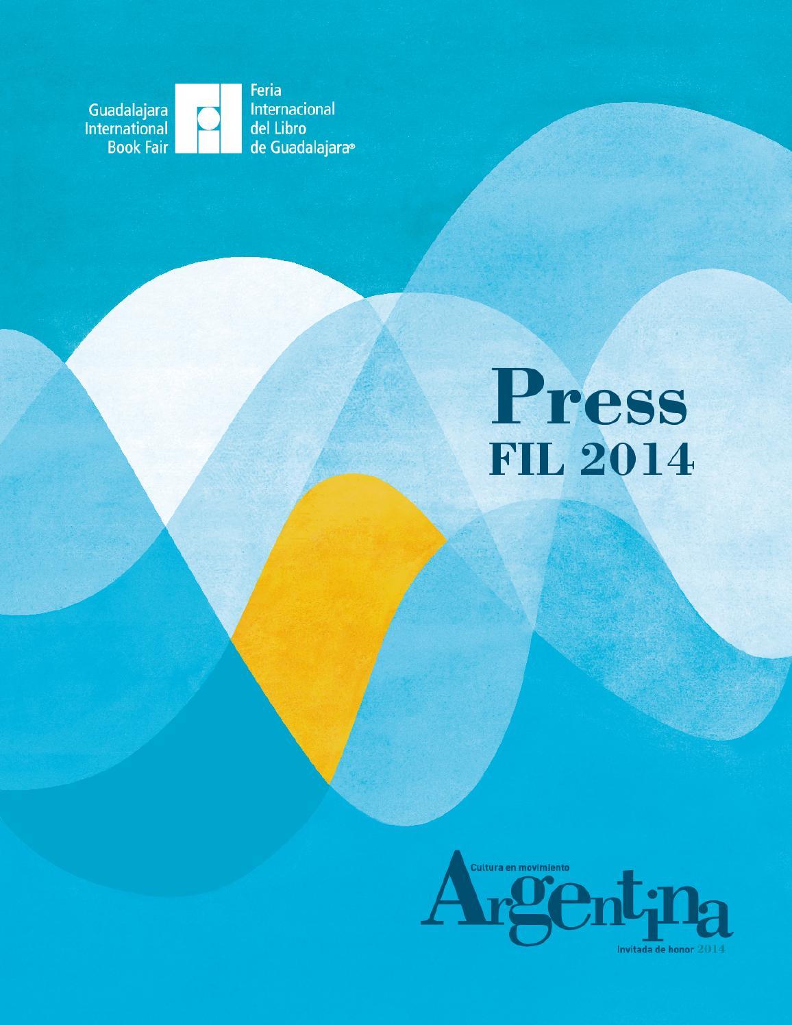 Selección de prensa 2014 inglés by Feria Internacional del Libro de  Guadalajara FIL - issuu 9a5ec7e6d25