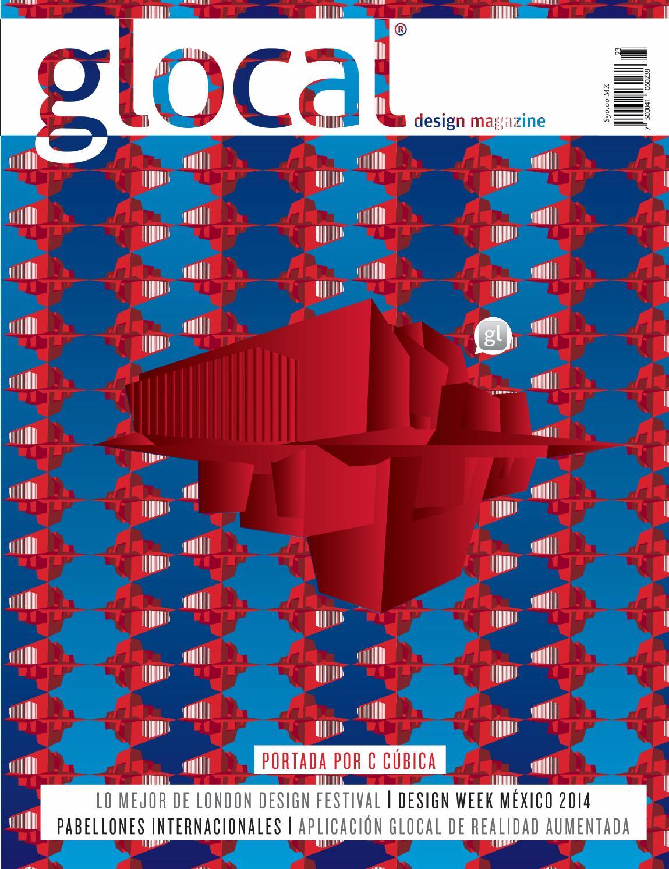 GLOCAL DESIGN MAGAZINE No. 23 Portada por / Cover by: C CÚBICA by ...
