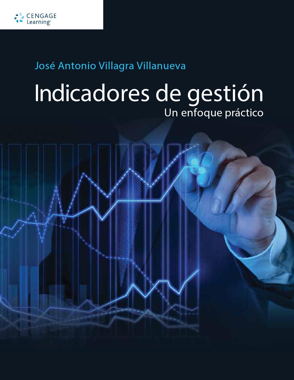 Indicadores de gestión. Un enfoque práctico. Primera edición. José ...