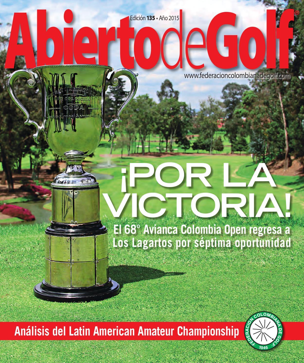 Abierto de Golf - 135 by Prensa Fedegolf - issuu