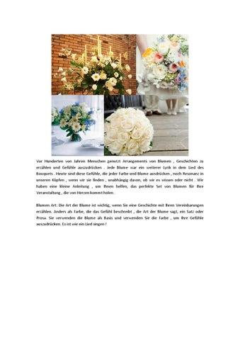 Hochzeit Dekor Geschichte Mit Blumen Sagen By Sunny Issuu