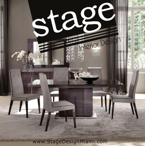 Stage Design Miami Dining Collection 2017