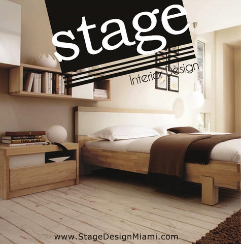 Stage Design Miami Bedroom Collection 2017