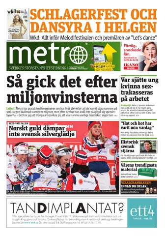 the latest 1bc4f c1569 20150227 se goteborg by Metro Sweden - issuu