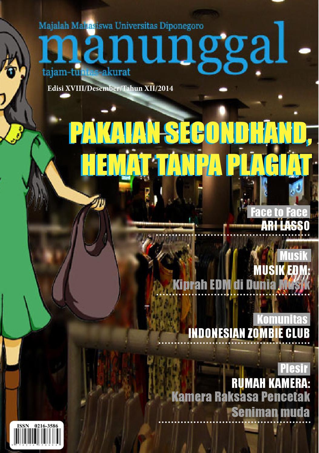 Majalah Edisi XVII Desember Tahun XII 2014 By LPM Manunggal Issuu