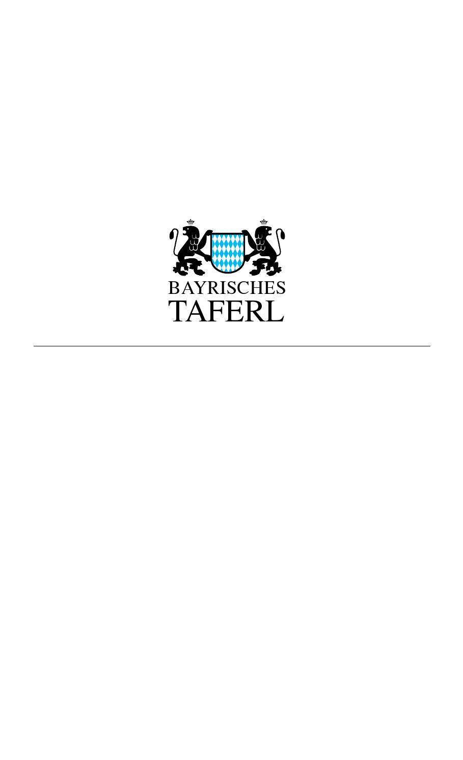 Ausgabe 09 2015 bayrisches taferl by Bayrisches Taferl issuu