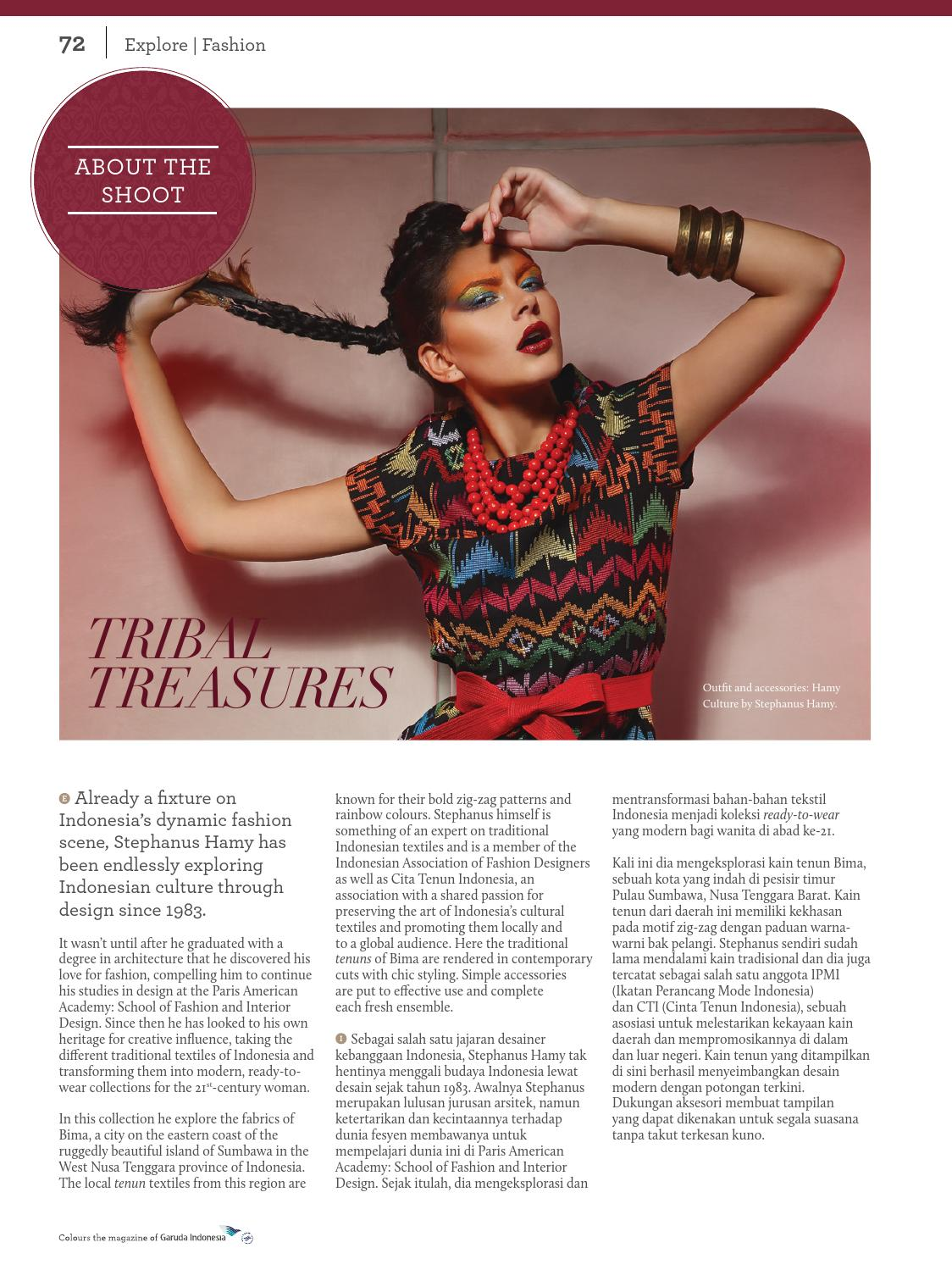 Colours Garuda Indonesia March 2015 By Agency Fish Issuu