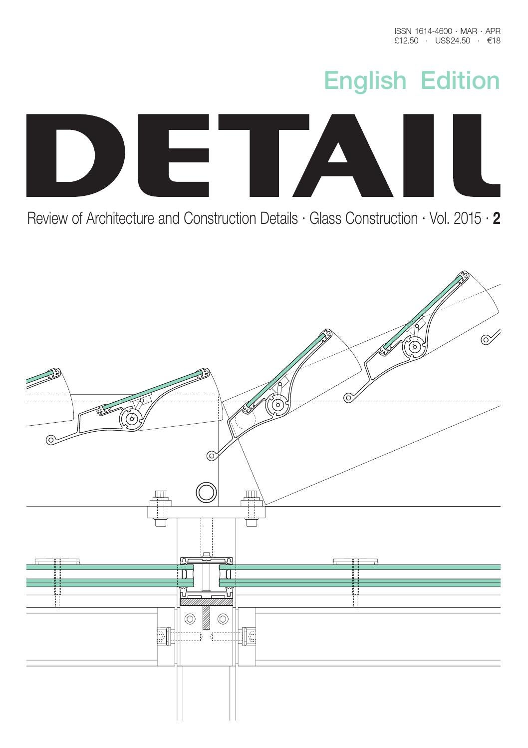 DETAIL English 2/2015 - Glass Construction by DETAIL - issuu