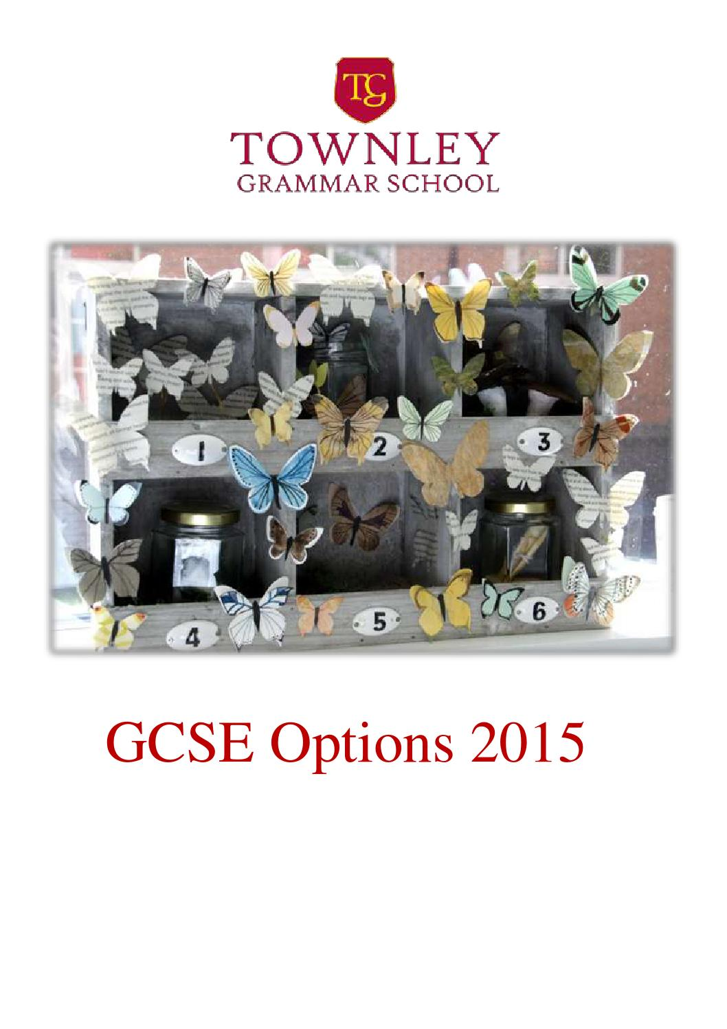 Best gcse options for university