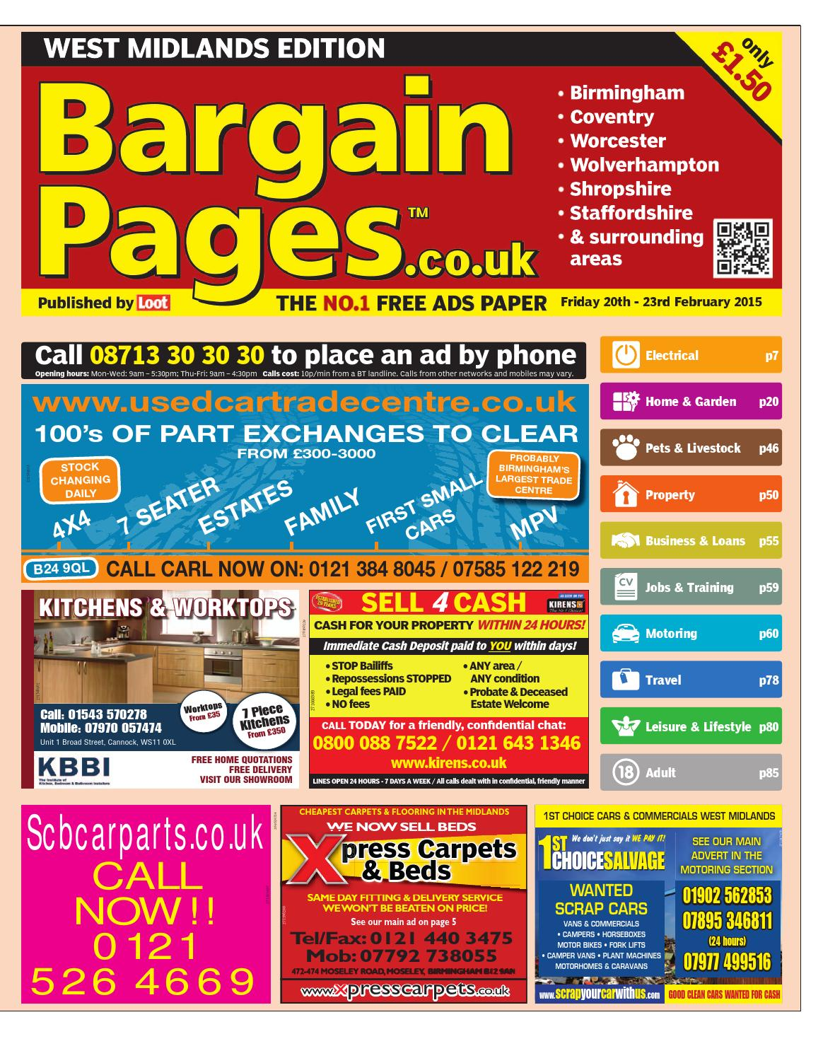 02eeca111dac Bargain Pages West Midlands