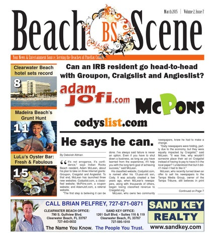 Beach Scene Pinellas March 2015 by McLean Media - issuu