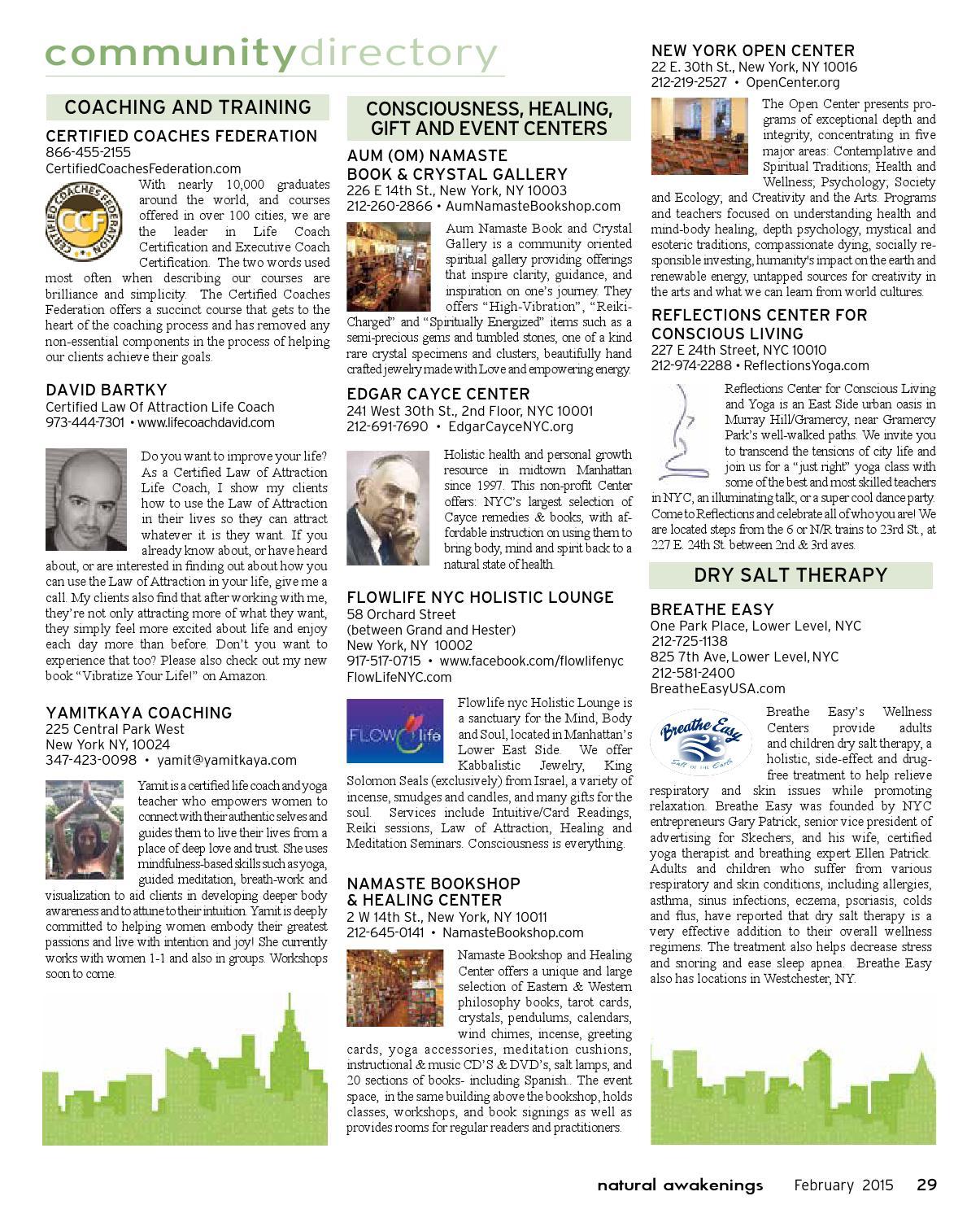 Natural Awakenings NYC March 2015 by Natural Awakenings NYC