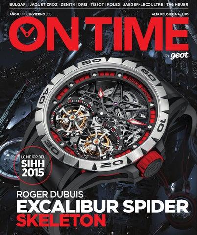 7aece5811 Bulgari | Jaquet Droz | Zenith | Oris | Tissot | Rolex | Jaeger-LeCoultre | TAG  HEUER año 8 / #43 / INVIERNO 2015