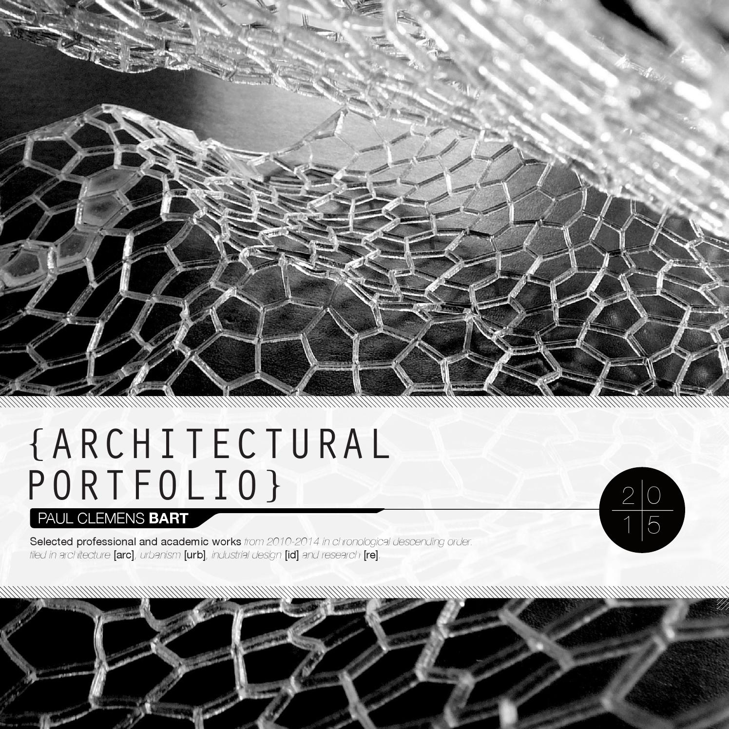 PAUL CLEMENS BART ARCHITECTURAL PORTFOLIO by Paul Clemens Bart issuu