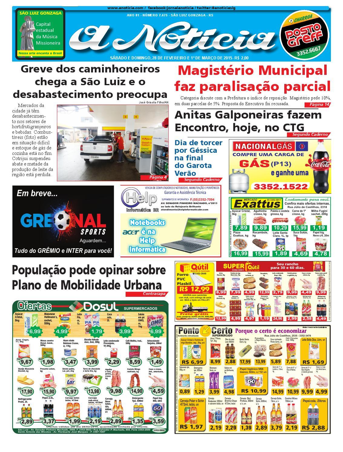 3d9bcd1e783 Edição de 28 de fevereiro e 1º de março de 2015 by Jornal A Notícia - issuu