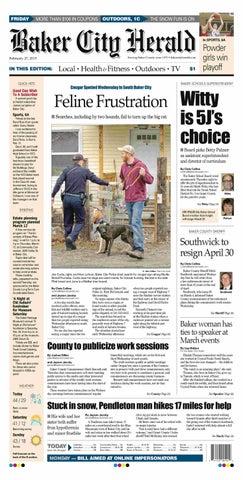 Baker City Herald paper 2-27-15 by NorthEast Oregon News - issuu