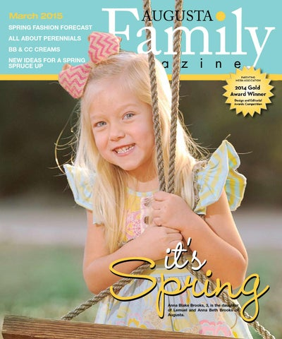 Augusta Family Magazine March 2015 by Augusta Family