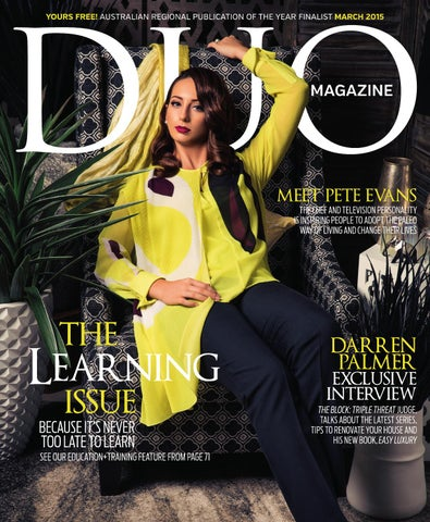 2021681ed11b DUO Magazine March 2015 by DUO Magazine - issuu