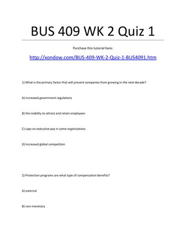 bus law quiz1 Business and personal law chapter 1: the law and the courts online practice tests.