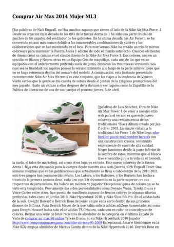 Vistazo Baratas Nike Air Max 1 Mujer Zapatillas Venta