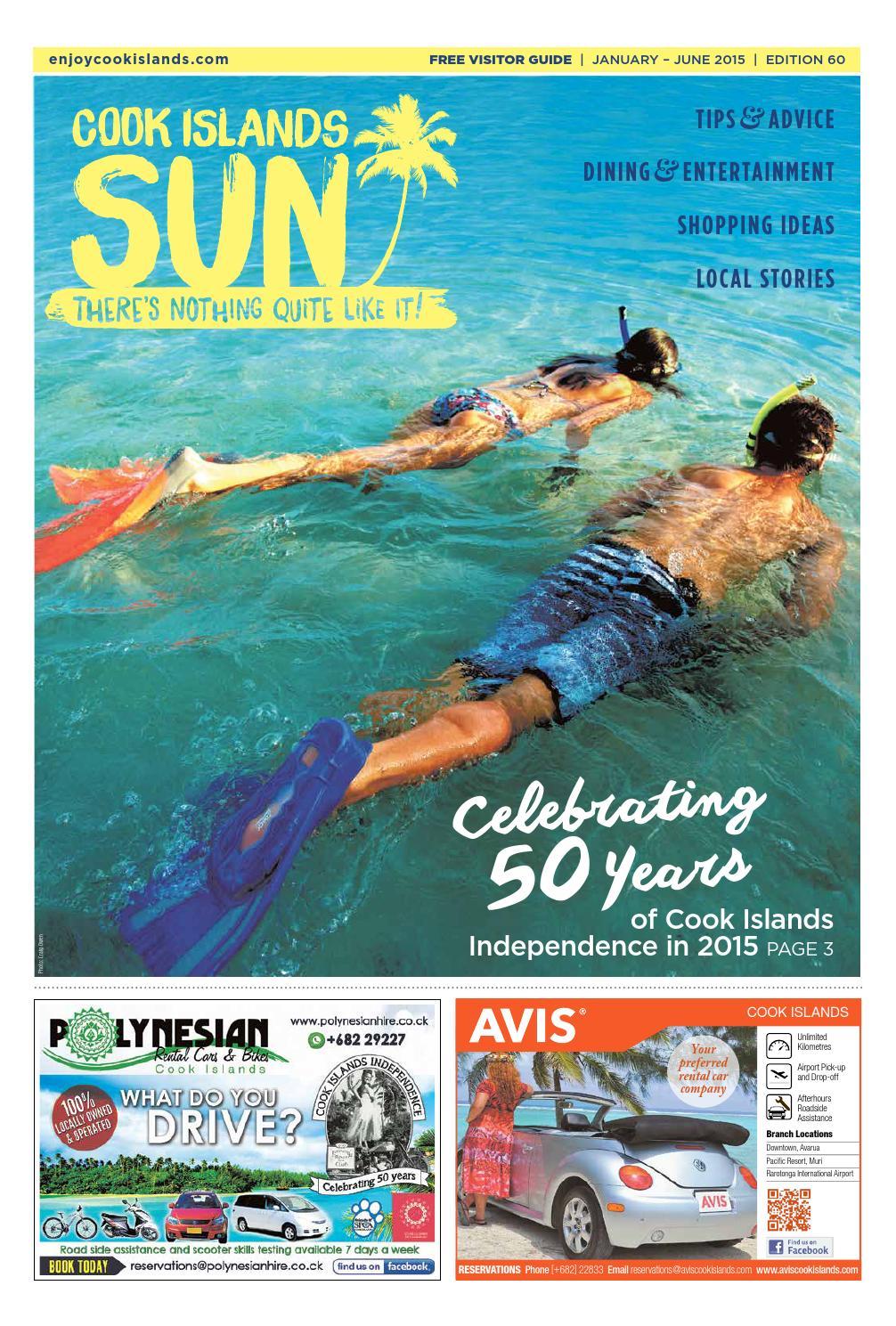 Cook Islands Sun - January-June 2015 Edition by Cook Islands Sun - issuu