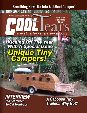 unusual tiny rvs. Page 1 Cool Tears and Tiny Campers Magazine  January February 2015 by