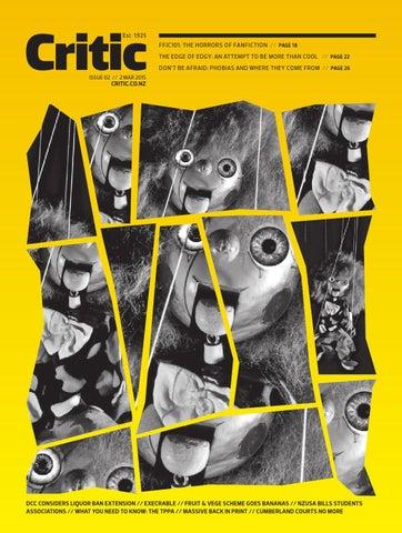 Critic Issue 02, 2015 by Critic - Te Arohi - issuu