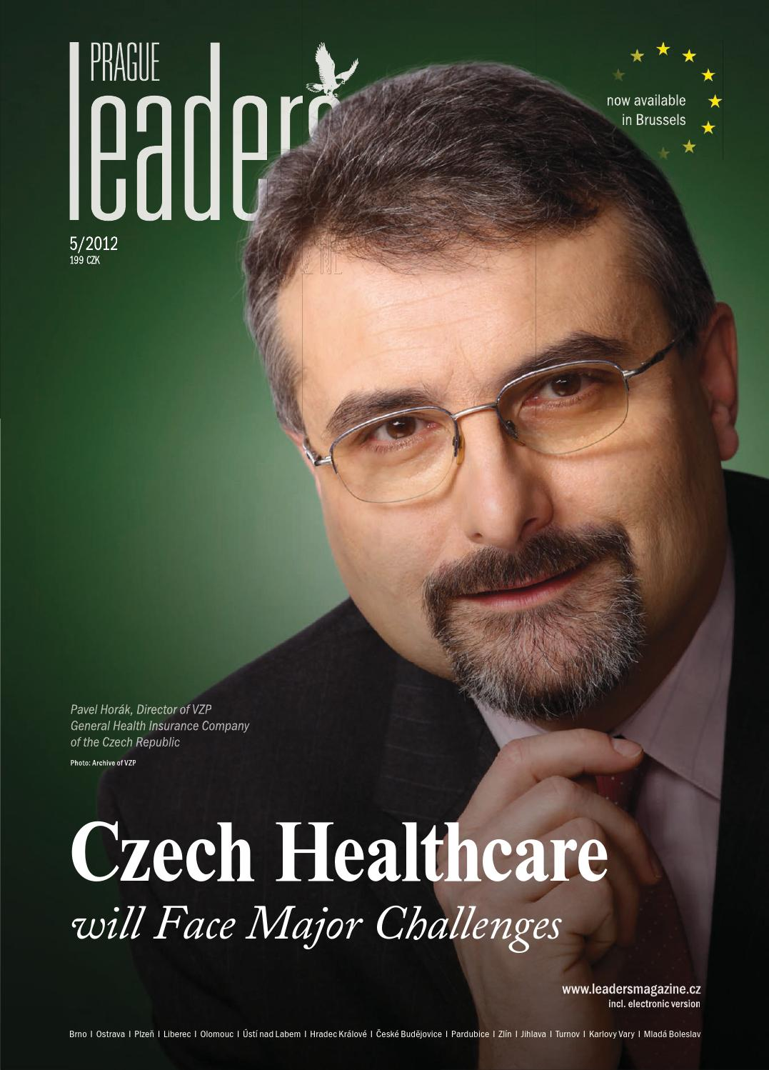 Prague Leaders Magazine Issue 05 2012 By Czech Amp Slovak