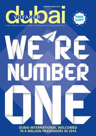 Page 1. issue 217 mArch 2015. FREE COPY Dubai Airports and Dubai Duty Free  Magazine   Shopping Directory 3462281eddf