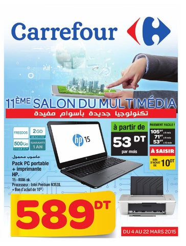 Catalogue Carrefour Salon Informatique Et Multimedia By Carrefour