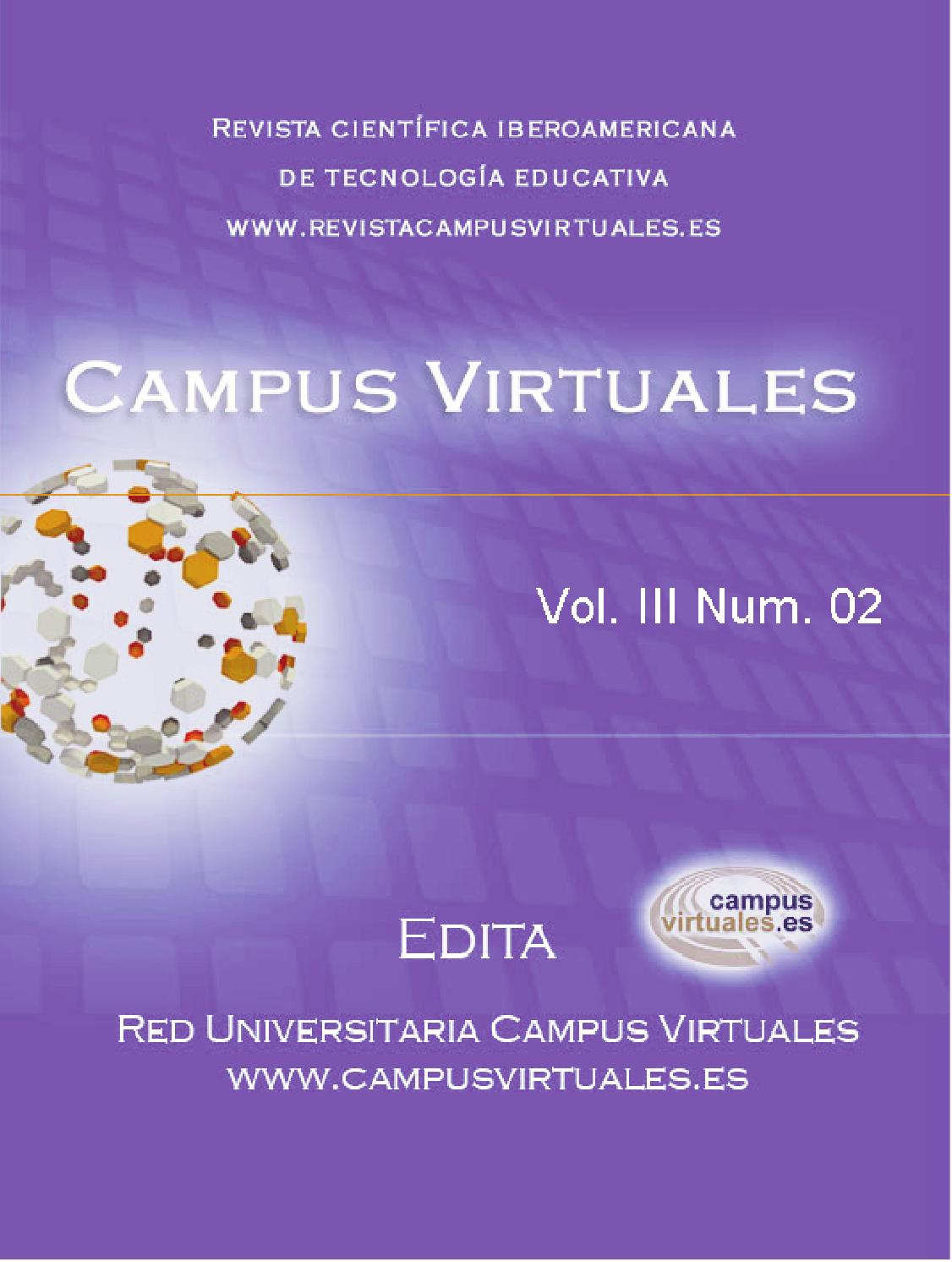 Revista \'Campus Virtuales\' 02 III by Revista Campusvirtuales - issuu