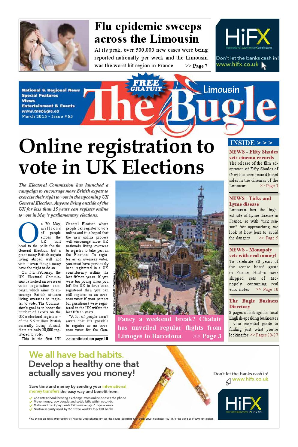 The Bugle Limousin Mar 2015 By The Bugle Issuu