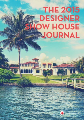 online store 627b1 ccad5 2015 Designer Show House Journal
