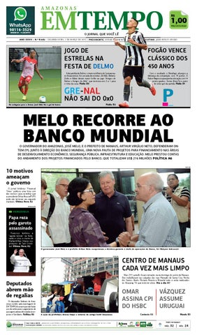 2648d582b8f66 EM TEMPO - 2 de março de 2015 by Amazonas Em Tempo - issuu