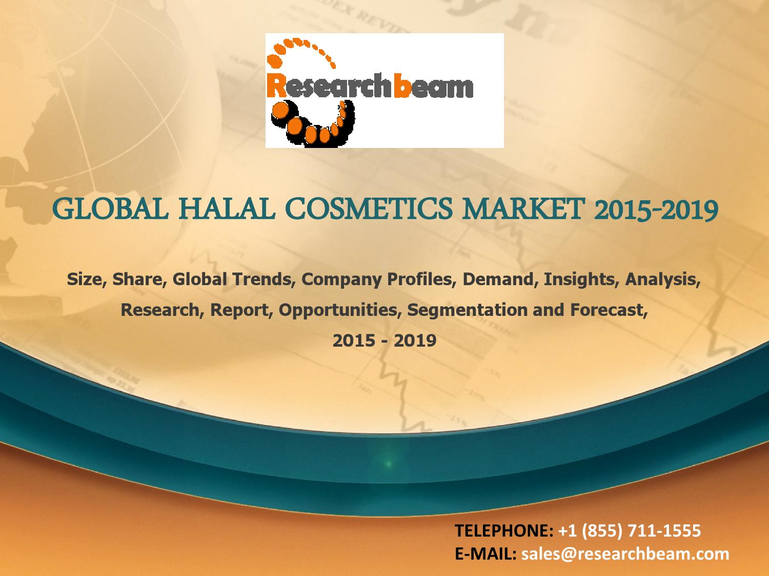 latest report cosmetics retail market in central Total sales of cosmetics in central europe are forecasted to grow by 15% in 2012, compared to 23% last year, says market research firm pmr publications patrycja nalepa, pmr publications the economic environment in central europe remains dull, in particular when compared to the 2008-2009 period.