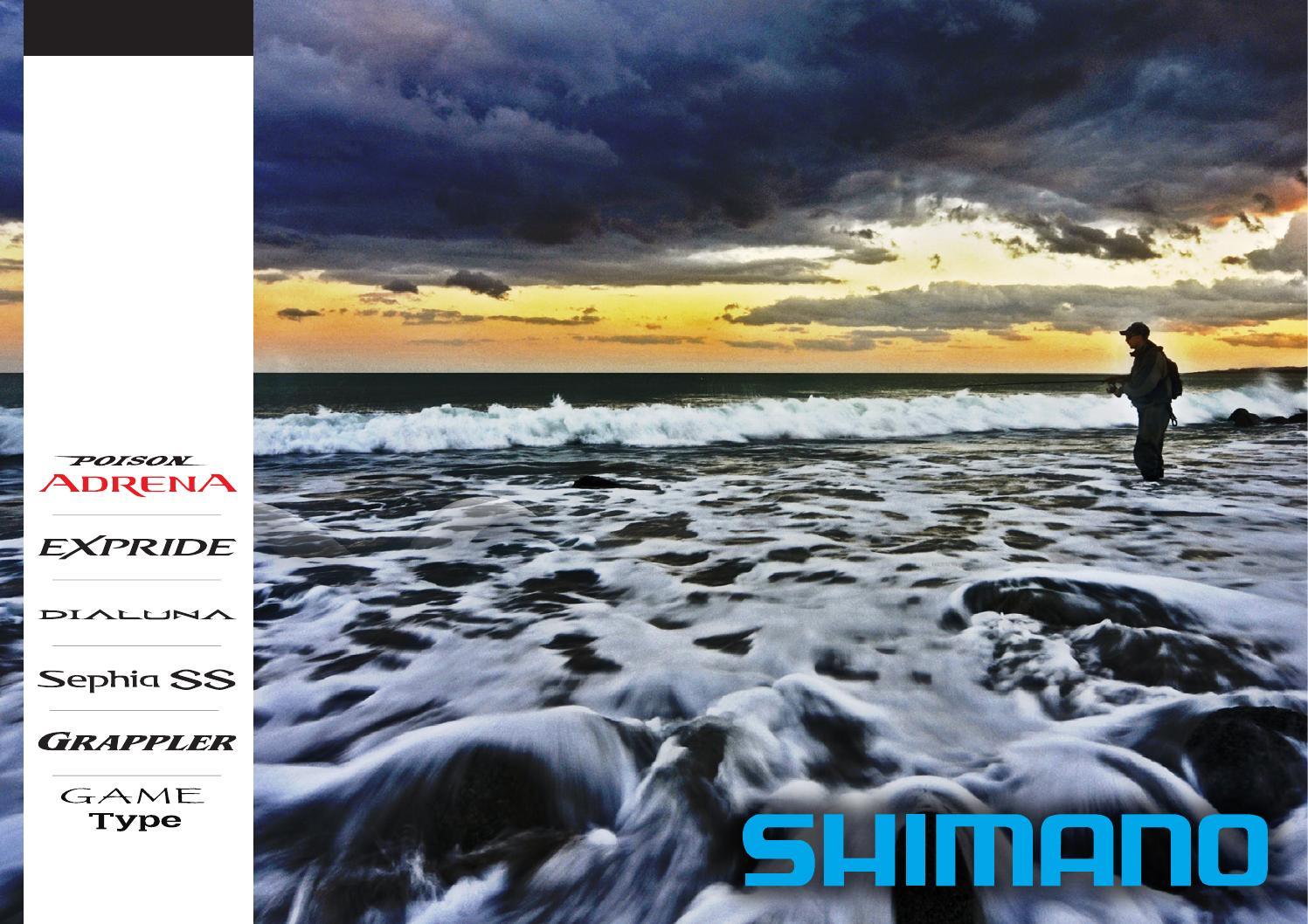 Shimano JDM catalogue 2015 French by Shimano
