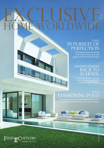 Exclusive Home Worldwide Issue 1 2015 By Fine Country Issuu