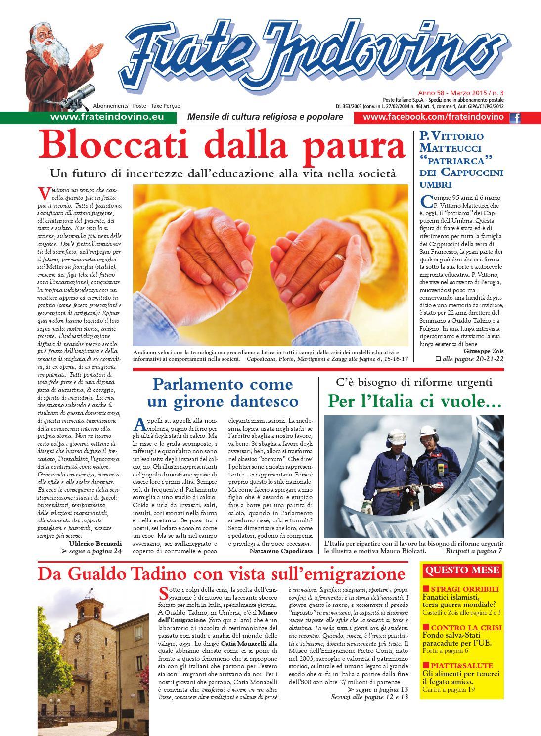 Marzo By Edizioni Frate Indovino Issuu