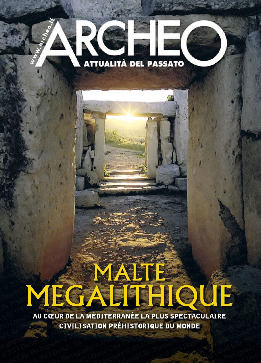 Archeo French By Malta Tourism Authority Issuu